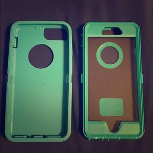 Teal Otterbox Defended Series Case for iPhone 6/6s